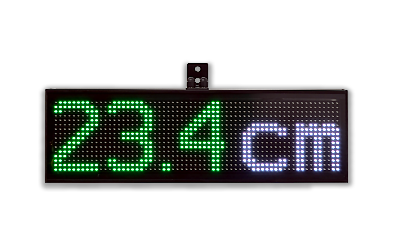 Line oriented led displays microsyst systemelectronic gmbh