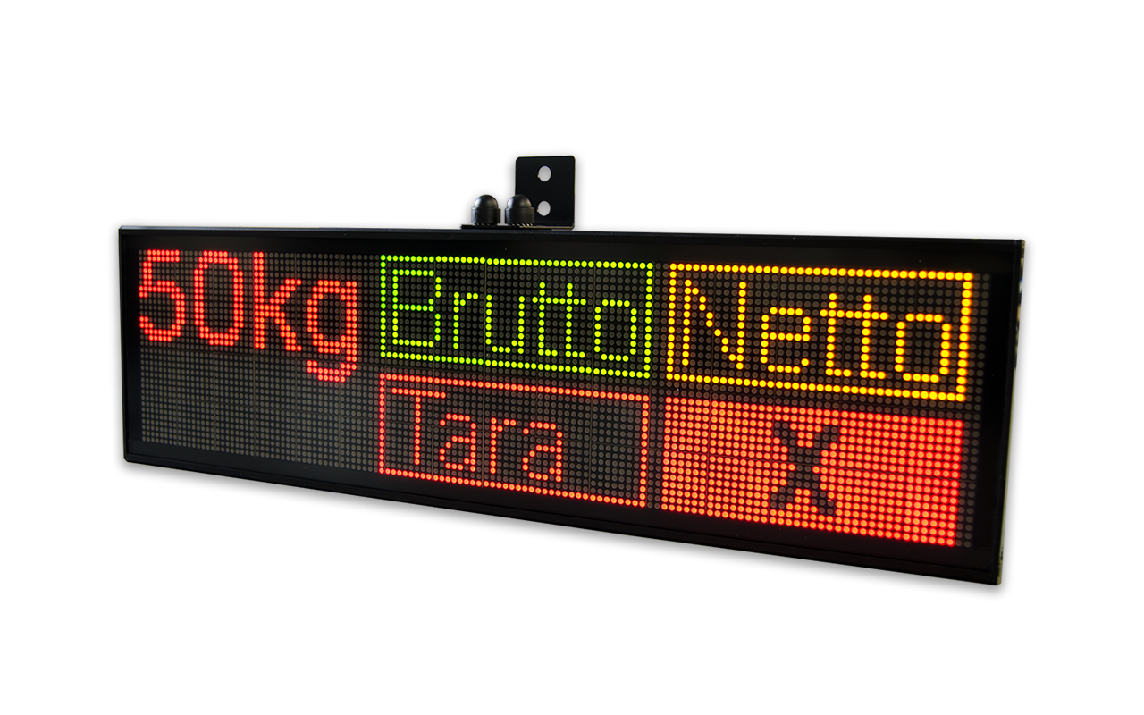 Led Linienle line oriented led displays microsyst systemelectronic gmbh